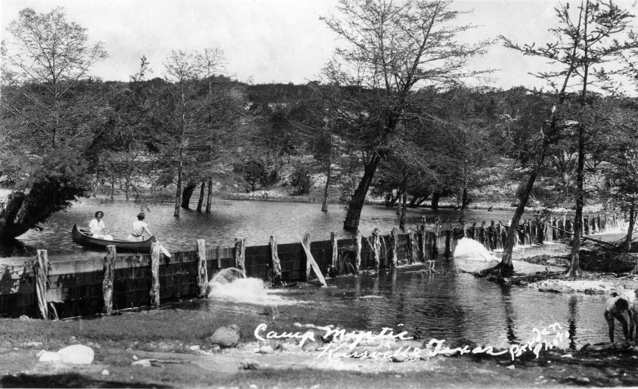 Camp Mystic in the 1930s. Photo by Starr Bryden. Taken from Joe Herring Jr.'s Blog