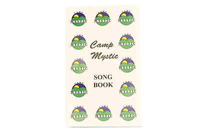 NEW!  Camp Mystic Songbook - $7.00